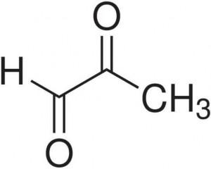 methyloglyoxal budowa